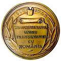 Medalia Semicentenarul Unirii Transilvaniei cu Romania - avers.jpg