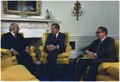 Meeting in the Oval Office between Nixon, Henry Kissinger, and Egyptian Foreign Minister Ismail Fahmi - NARA - 194552.tif