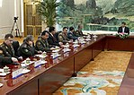 Meeting of the Chinese President with the heads of military delegations of the SCO member States (2018) 02.jpg