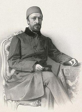 Mehmed Emin Âli Pasha - A portrait of Mehmed Emin Âli Pasha, c. 1850