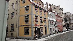 Meistaru Street in Riga.JPG
