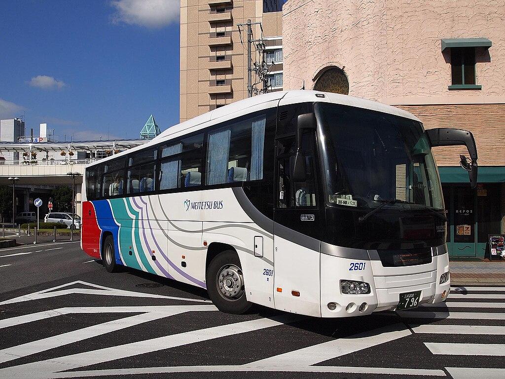 Meitetsubus 2601 Selega-2nd Centrair-Limousine