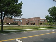Melrose high school (whole front)