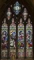 Melton Mowbray, St Mary's church, window (44888800234).jpg