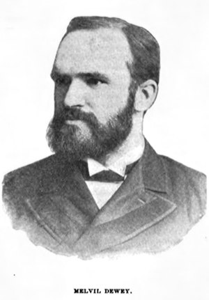Dewey Decimal Classification - Melvil Dewey, the inventor of the Dewey Decimal classification