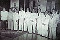 Members of the Council of Kings with Prime Minister and Minister of Enlightenment, Bali Membuat Sedjarah Baru.jpg