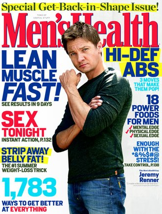 Medical journalism - Men's Health magazine, published by Rodale Press