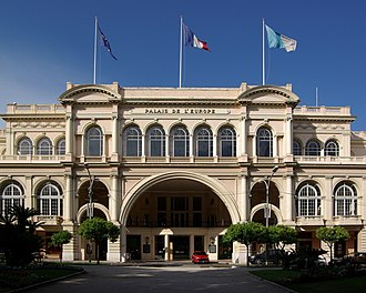 Hans-Georg Tersling - Menton's former casino from 1909, now thePalais de l'Europe