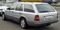 Mercedes-Benz W124T rear 20090418.jpg