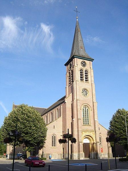 Bestand:Merelbeke - Sint-Pietersbandenkerk 2.jpg
