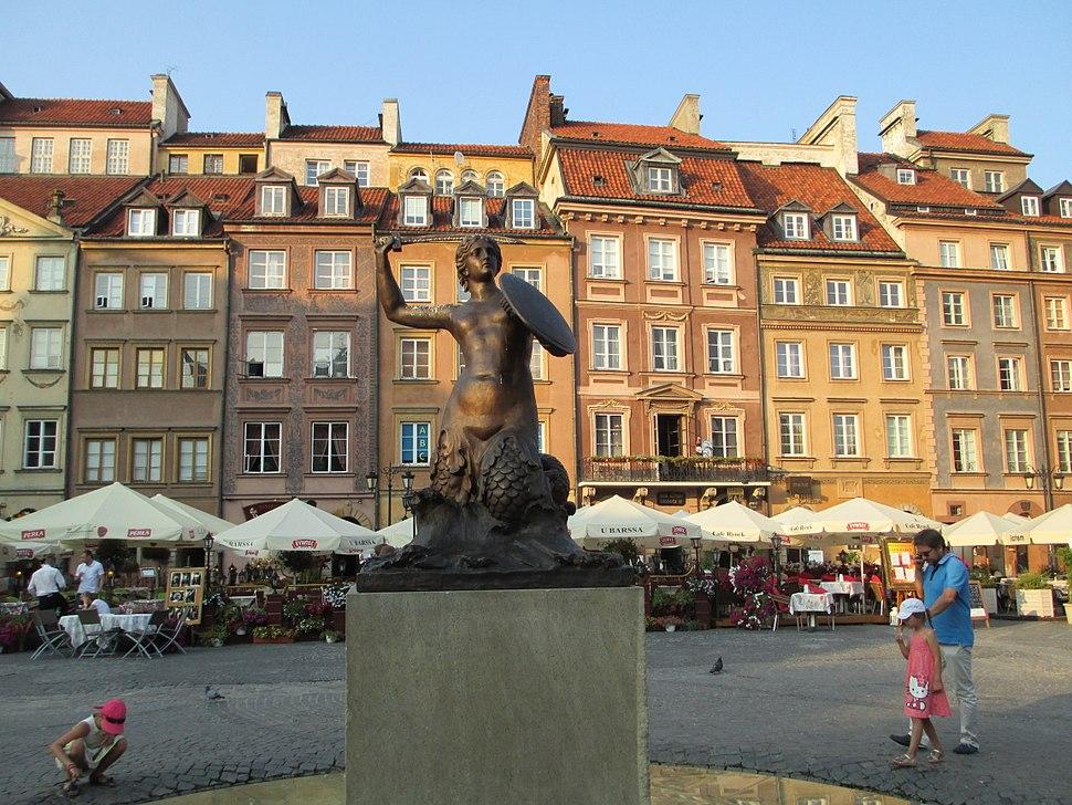 Mermaid of Warsaw
