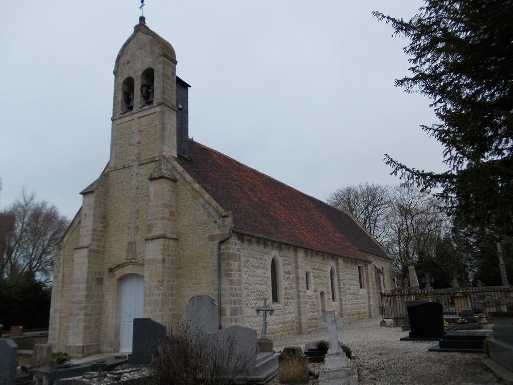 Merville-Franceville, église Saint-Germain.JPG