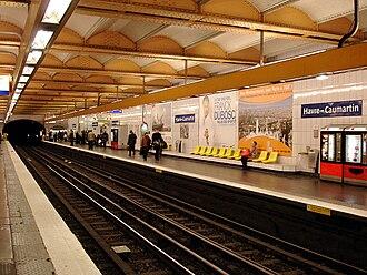 Havre – Caumartin (Paris Métro) - Image: Metro de Paris Ligne 3 Havre Caumartin 01
