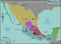 Mexico regions map (fr).png