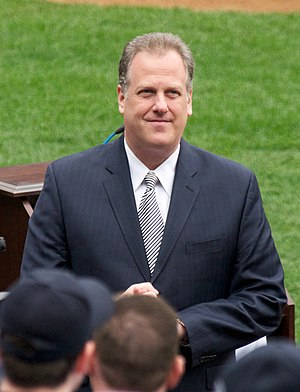 Michael Kay (sports broadcaster) - Kay in 2010