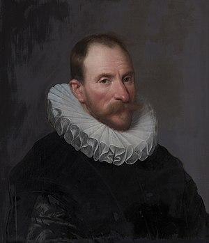 Michiel Jansz. van Mierevelt - Portret van Cornelis van Aerssen (1545-1627), klerk bij de Staten-Generaal