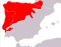 Microtus lusitanicus map.png