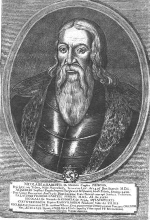 Mikalojus Radvila the Old - Image: Mikołaj Radziwiłł Stary