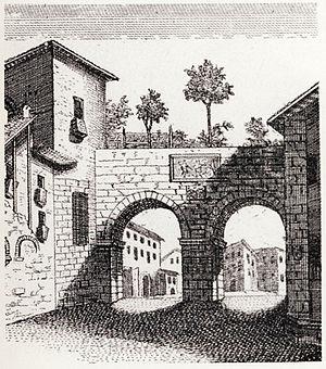 Porta Nuova, Gate of Milan - Image: Milano, Porta Nuova (medievale) 01