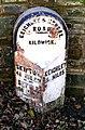 Milestone - Skipton Road, Kildwick - geograph.org.uk - 1016832.jpg