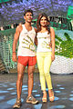 Milind Soman,Priyanka Chopra From The NDTV Greenathon at Yash Raj Studios (4).jpg
