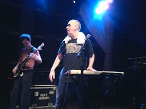 English: Dead Milkmen live at World Cafe live,...