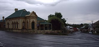 Millthorpe, New South Wales - Main Street of Millthorpe