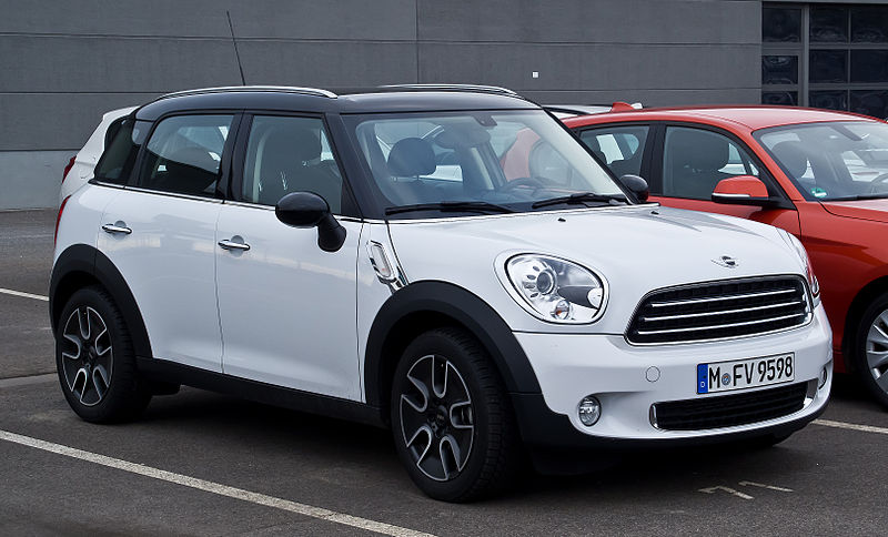 Mini Countryman Black Alloy Paint For Chips Uk