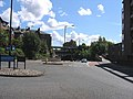 Mini roundabout junction Link Road and Sandyford Road - geograph.org.uk - 490592.jpg