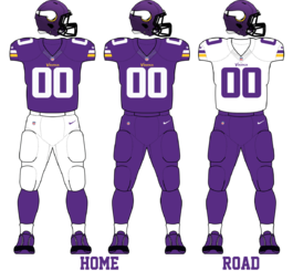 Minnesota Vikings 2013 Uniforms.png