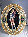 Minton tin-glazed maiolica plaque, circa 1860. Private Collection, England, UK.jpg