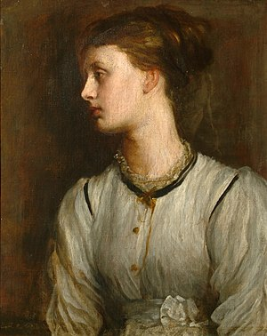George Frederic Watts - Miss May Prinsep