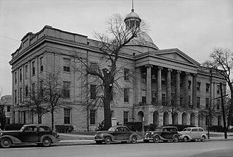 Old Mississippi State Capitol - Image: Mississippi Old Capitol Building Feb 20 1940
