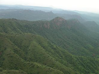 Tigray Province - Mountains of Lemalimo near Inda Selassie in western Tigray