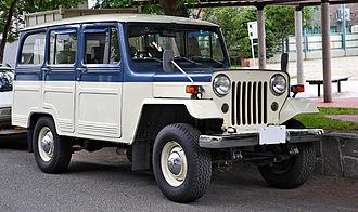 Jeep CJ - Mitsubishi Jeep Delivery Wagon J37