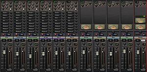 Harrison Mixbus - Mixbus mixer window