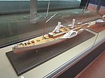 Model of PS Colonel Lamb (ship, 1864), Merseyside Maritime Museum.JPG