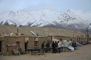 Moincêr village in Tibet Autonomous Region, Peoples Republic of China