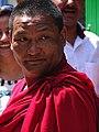 Monk in Street - McLeod Ganj - Himachal Pradesh - India (26681121432).jpg
