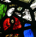 Monks Risborough - St Dunstans Stained glass Madonna.jpg