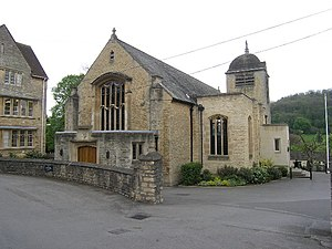 Monkton Combe School - Image: Monkton Combe (Somerset) School Chapel geograph.org.uk 67831