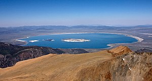 Mono County, California - Mono Lake, the dominant geographical feature in Mono County