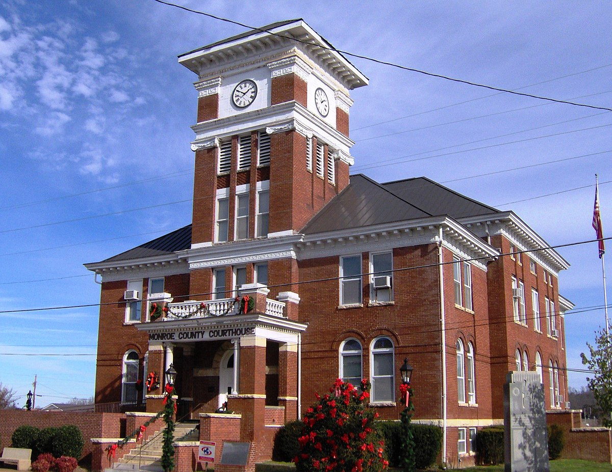 Madisonville Tennessee Wikipedia - Us counties coordinates