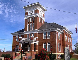 Monroe County, Tennessee - Image: Monroe county tennessee courthouse 1