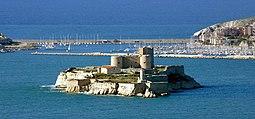 El castillo de If visto desde Marsella  Foto de JM ROSIER