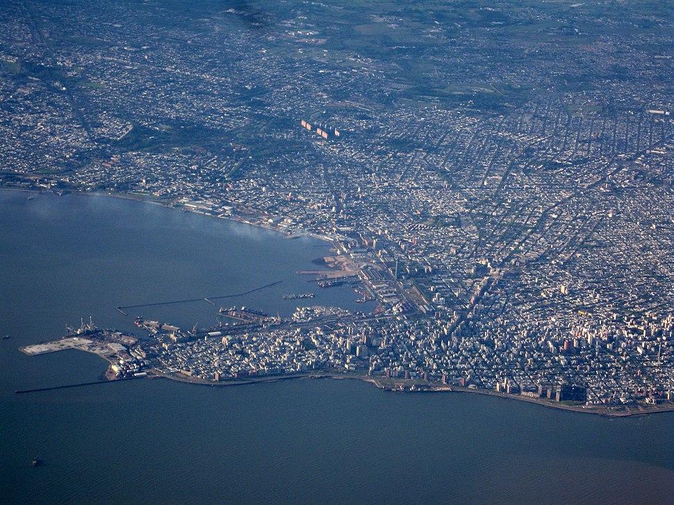 Montevideo aerial
