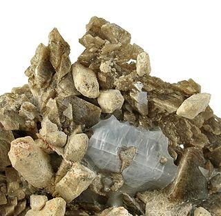 Monticellite olivine, nesosilicate mineral