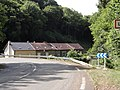 Montigny-sur-Chiers (Meurthe-et-M.) La Roche, city limit sign.JPG