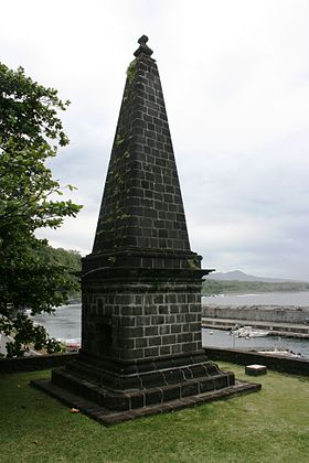 quoi voir à l'île de la Réunion - le monument corbett dans la commune de Sainte-Rose