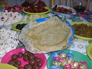 Mimouna - Mufletta and other holiday confections